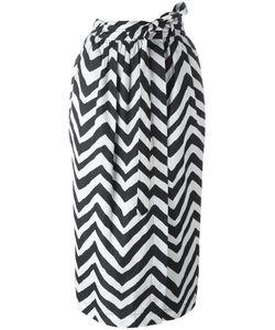 Diesel | Zig Zag Pattern Skirt Small Polyester