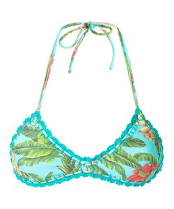 BLUE MAN | Printed Bikini Top P Lyocell