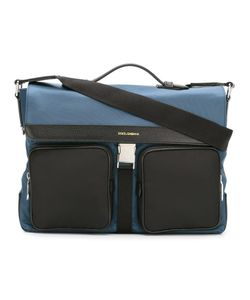 Dolce & Gabbana | Flap Messenger Bag Nylon/Leather