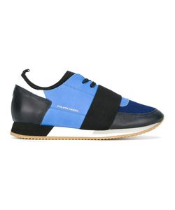 Philippe Model | Panelled Sneakers 41 Leather/Polyester/Rubber