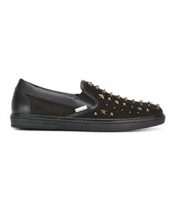 Jimmy Choo | Grove Sneakers 42 Calf Leather/Leather/Rubber/Metal Other