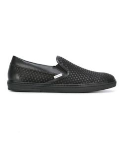 Jimmy Choo | Grove Sneakers 42 Calf Leather/Leather/Rubber