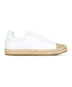 Alexander Wang | Rian Espadrille Sneakers 38 Leather/Rubber/Raffia