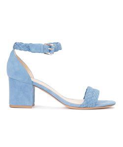 Alexandre Birman | Braided Vamp Sandals 37.5 Leather/Suede
