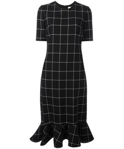 Victoria, Victoria Beckham | Victoria Victoria Beckham Checked Dress 10 Silk/Cotton