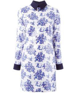 Victoria, Victoria Beckham | Victoria Victoria Beckham Print Dress 8 Polyester/Viscose/Silk