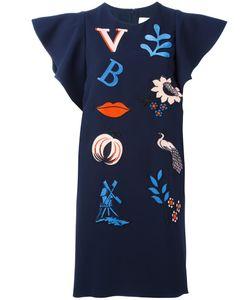 Victoria, Victoria Beckham | Victoria Victoria Beckham Patch Dress 12 Silk/Polyester