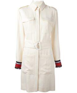 Victoria, Victoria Beckham | Belted Dress 10 Polyester/Viscose Victoria Victoria Beckham