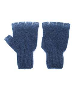The Elder Statesman | Heavy Spray Fingerless Gloves Adult Unisex Cashmere