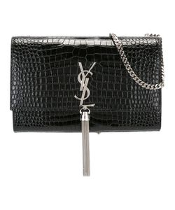 Saint Laurent | Medium Kate Monogram Tassel Satchel Calf Leather
