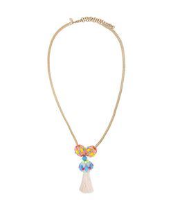Megan Park | Bead Tassel Pendant Necklace