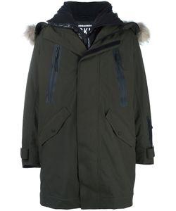 Dsquared2 | Ski Fur Trim Parka 50 Polyamide/Polyester/Raccoon Dog