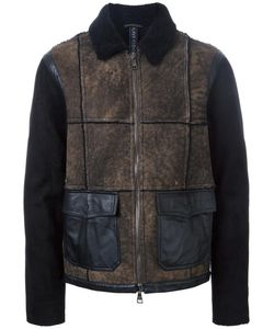 Giorgio Brato | Panelled Jacket 50 Sheep Skin/Shearling