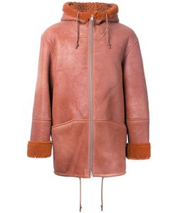 YEEZY | Zipped Hooded Jacket Medium Lamb Skin/Sheep Skin/Shearling