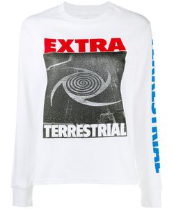 ASHLEY WILLIAMS | Extra Terrestrial Sweatshirt Medium Cotton