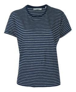 Vince | Striped Relaxed T-Shirt Small Supima Cotton
