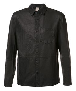 BALDWIN | Alan Leather Shirt Large Leather