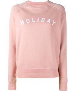 Holiday | Logo Printed Sweatshirt Xs Cotton