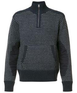 RRL | Kangaroo Pocket Zipped Jumper Xl Cotton/Nylon/Lambs Wool
