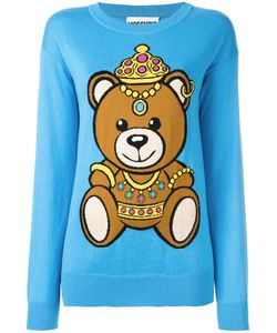 Moschino | Bear Intarsia Jumper Xs Cotton