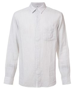 Rag & Bone | Stripe Beach Shirt Small Cotton