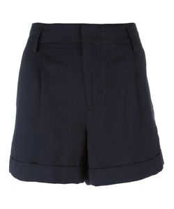 Vince | Wide-Legged Pleated Shorts 4 Cotton/Linen/Flax/Lyocell