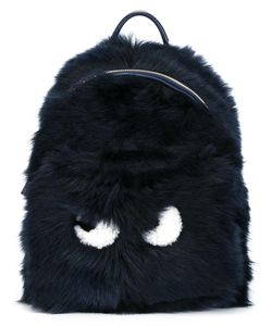 Anya Hindmarch | Mini Eyes Backpack Sheep Skin/Shearling