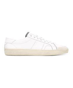 Saint Laurent | Signature Court Classic Surf Sneakers 39.5 Leather/Cotton/Rubber