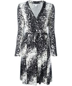 Diane Von Furstenberg | Abstract Print Wrap Dress 8