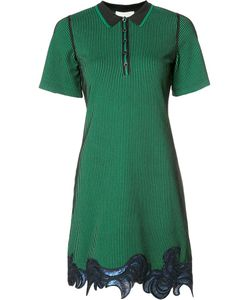 3.1 Phillip Lim | Sequin Embroidered Polo Dress Small
