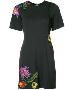 3.1 Phillip Lim | Embroidered T-Shirt Dress Medium Cotton 3.1 Phillip