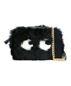 Anya Hindmarch   Mini Eyes Crossbody Bag Lamb Fur/Lamb Skin