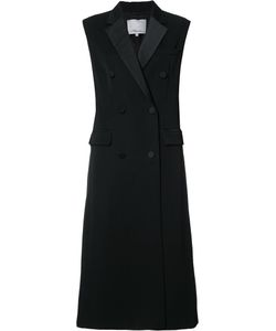 3.1 Phillip Lim | Sleeveless Tuxedo Coat Small Viscose/Wool