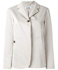 Jil Sander | Two-Button Blazer 38 Polyester/Silk/Cupro