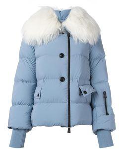 Moncler Grenoble | Goat Fur Collar Padded Short Coat 2 Polyamide/Polyester/Sheep