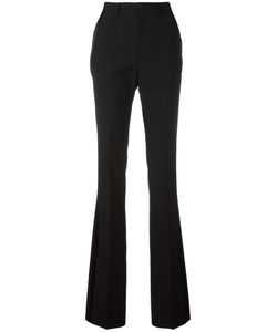 Saint Laurent | Satin Stripe Smoking Trousers 40 Wool/Viscose/Silk