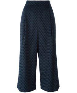 Diane Von Furstenberg | Stylised Print Culottes 8 Polyester/Spandex/Elastane/Spandex/Elastane