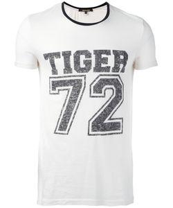 Roberto Cavalli | Tiger Print T-Shirt Large Cotton