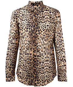 Roberto Cavalli | Leopard Print Shirt 40 Cotton