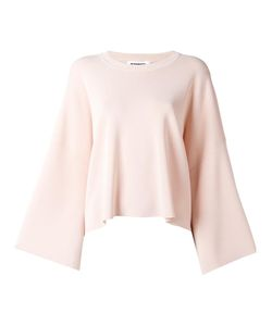 Jil Sander | Round Neck Wide Jumper 34 Polyester/Viscose