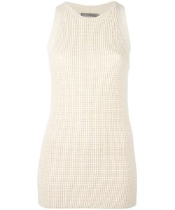 Vince | Waffle Knit Sleeveless Tunic Xs Cotton