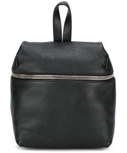 KARA | Small Zipped Backpack Leather