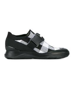 Christopher Kane | Gingham Sneakers 37 Spandex/Elastane/Cotton/Leather/Cotton