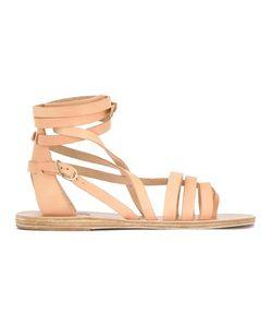ANCIENT GREEK SANDALS   Ankle Strap Flat Sandals 40