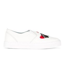 Chiara Ferragni | Flirting Slip-On Sneakers 36 Leather/Suede/Rubber