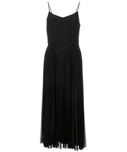 Victoria, Victoria Beckham | Victoria Victoria Beckham Pleated Trim Shift Dress 6 Silk/Polyester
