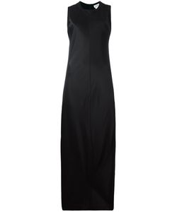 DKNY | Satin Maxi Dress Large Viscose/Merino