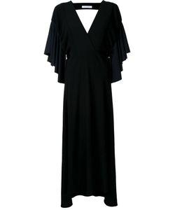 Christopher Esber   Ruffled Sleeve Dress 6 Polyester/Spandex/Elastane