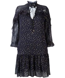 Just Cavalli | -Tone Polka Dots Dress 44 Silk/Viscose