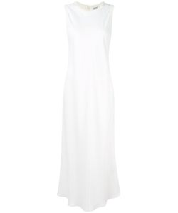 DKNY | Satin Maxi Dress Medium Polyester/Viscose/Merino